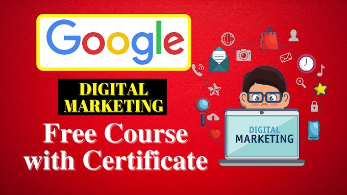 Digital media marketing free online course Google   how to learn digital marketing free