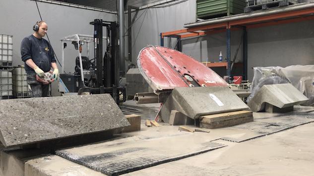 Wandzagen - New Jersey beton - Diabeton