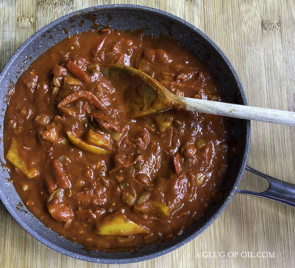 tomato and pepper sauce for fish