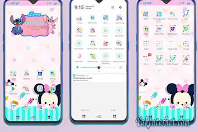 download tema oppo cute minnie