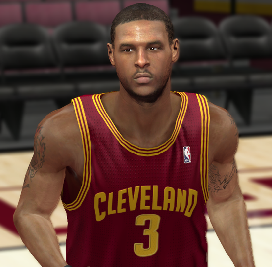 NBA 2K14 Dion Waiters Next-Gen Face Mod
