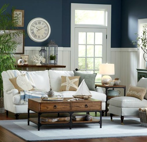 Coastal Living Room by Birch Lane