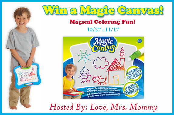 Magic Canvas Colorful Surprise Giveaway! 11/17 @PlaSmart