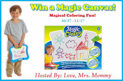 Enter the Magic Canvas Colorful Surprise Giveaway. Ends 11/17