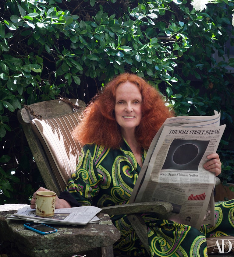 Grace Coddington's home