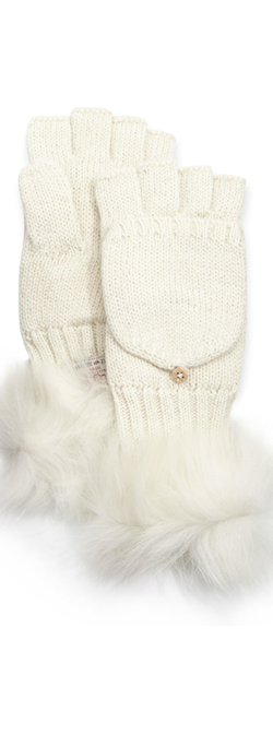 Ugg Australia Nyla Metallic mitten with shearling