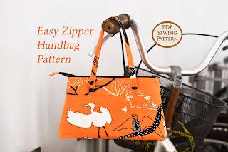 Easy Zipper Handbag