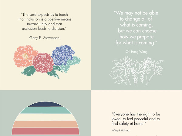 LDS General Conference April 2021 Printable Inspiring Quotes