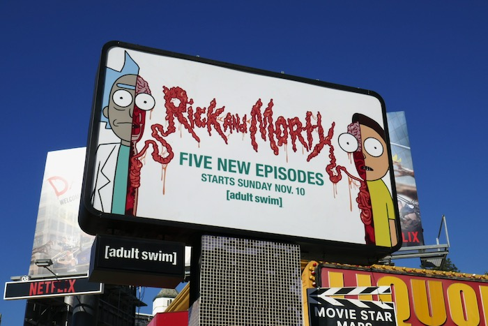 Rick and Morty 5 new episodes billboard
