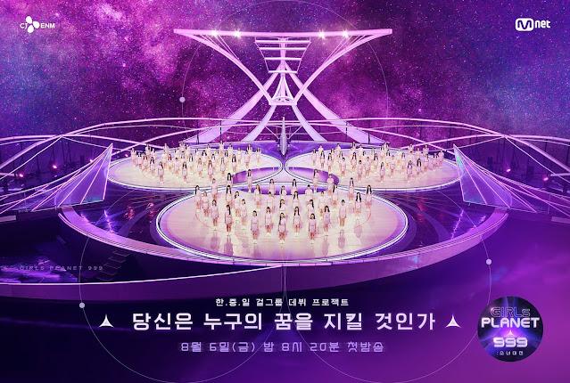 Girls Planet 999, el nuevo programa de supervivencia de mnet