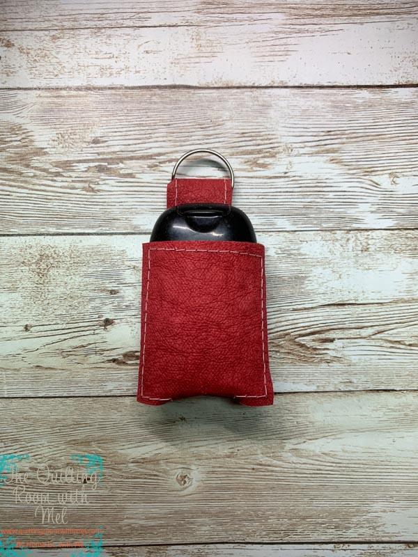 Hand sanitizer holder pattern