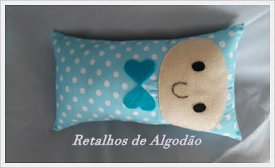 Naninha em formato de almofada para ajudar o seu bebê a dormir