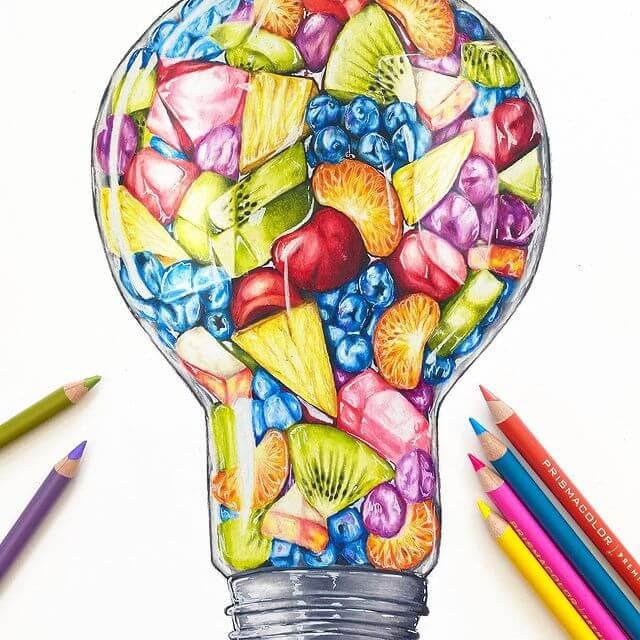 11-Fruit-salad-light-bulb-Morgan-Johnson-www-designstack-co