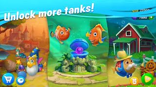 fishdom unlimited money and gems apk