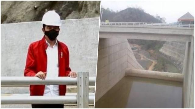 Resmikan Bendungan Tapin Kalsel, Jokowi: Ini Mampu Kurangi Banjir Secara Drastis