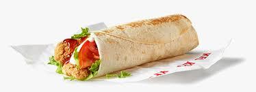 KFC Twister Sandwich