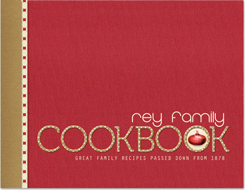 Cookbook Covers Template. printable family recipe book. collection ...