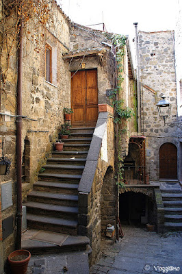 Edificio nel quartiere Medievale di Bolsena