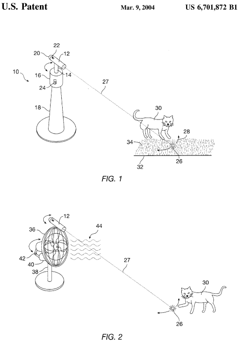 U.S. Patent 6,701,872 Figures 1 and 2