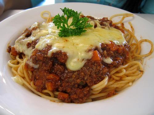 Food at Home: Spaghetti Bolognese