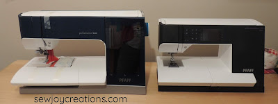 two PFAFF sewing machines