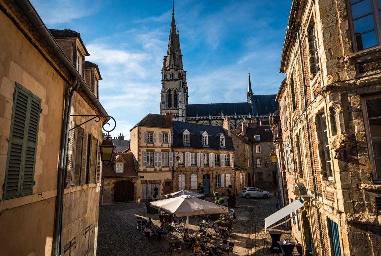 Quartier historique ville de Moulins