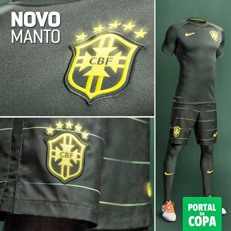 Seleção Brasileira tem terceira camisa e convocação para jogo com ... a5c8ccda070c4