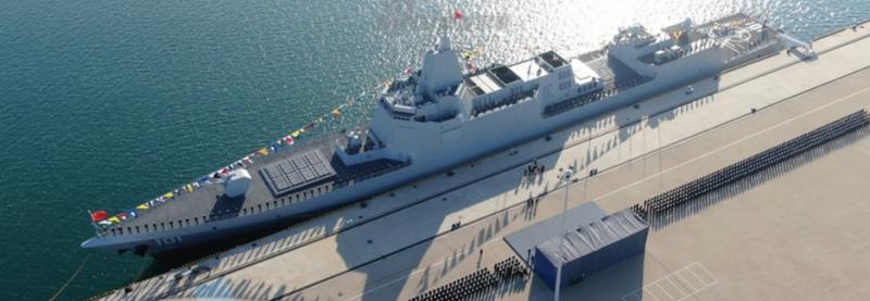 ВМС Китаю прийняли перший есмінець Тип 055