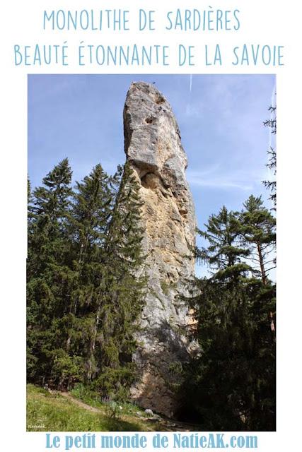 Monolithe de Sardières Savoie
