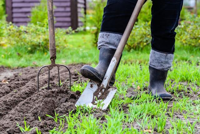 using gardening to get in shape
