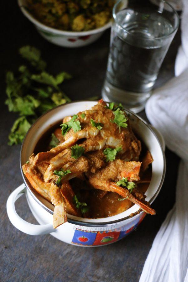 Crab Curry   Nandu Curry( Kulambu) Recipe  Nandu Varthearachedu Recipe