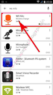 Android Mobile Trick, How to use Wo Mic