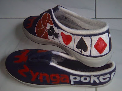 Sepatu Lukis Zynga Poker, Sepatu Lukis
