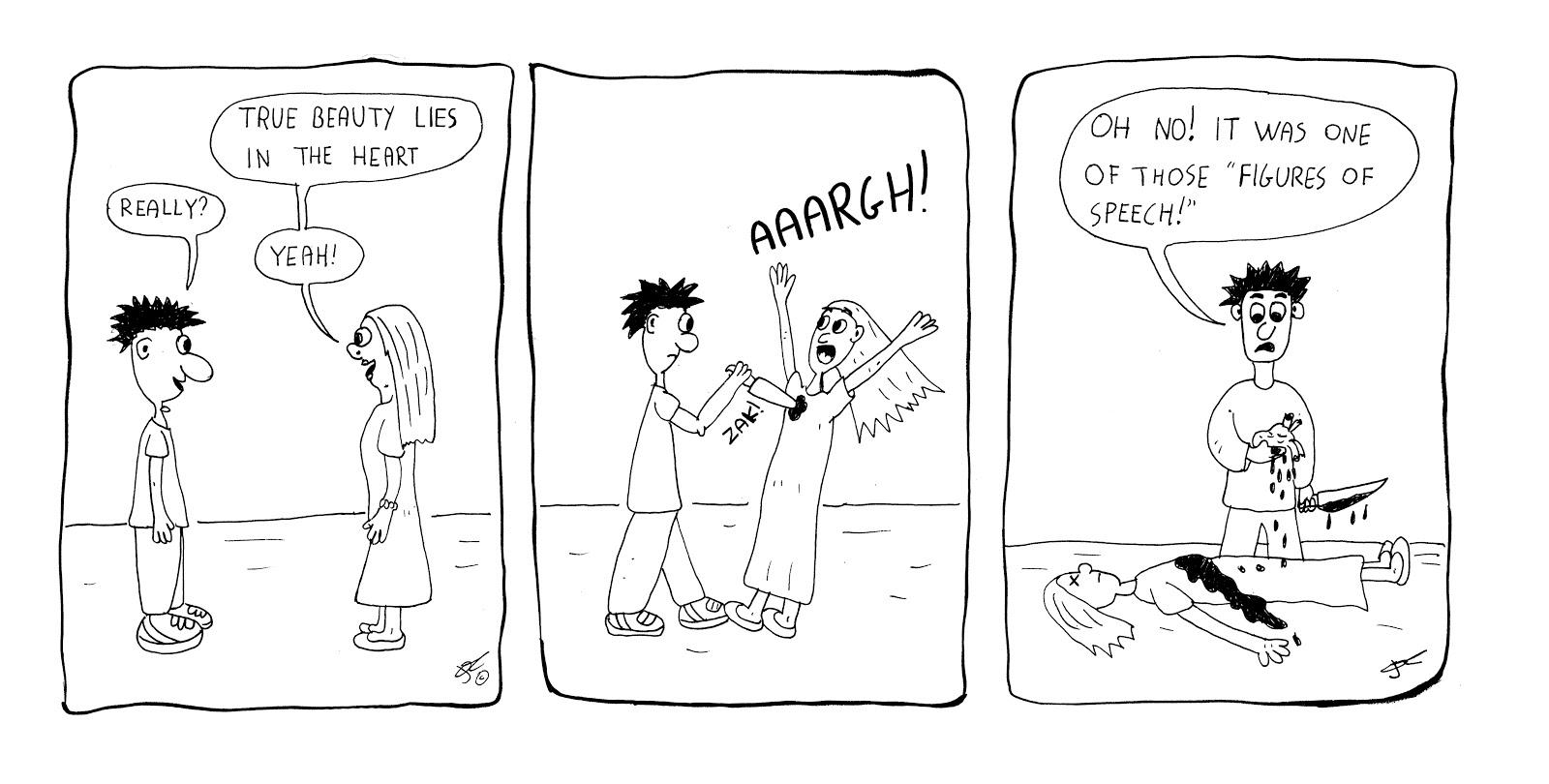 Zampe di Gallina / Chicken Scratch Comics: November 2012