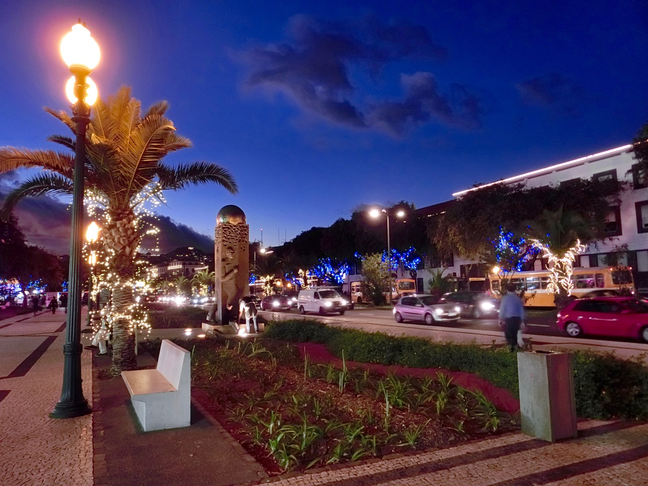Funchal Weihnachtsbeleuchtung.Paradies Goes Madeira Funchal Im Dezember
