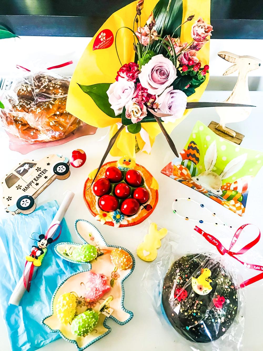 Easter home decoration, Easter table decoration, Pasxa, Uskrsnja dekoracija