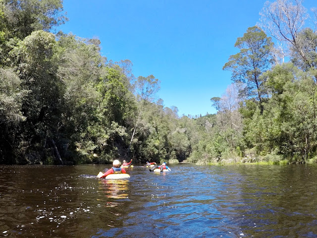 Storms River tubing in Tsitsikamma National Park, Garden Route, South Africa