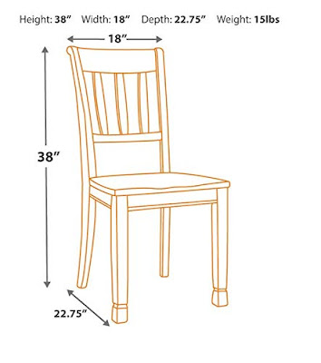 Cottage White Dining Chair Design Furniture
