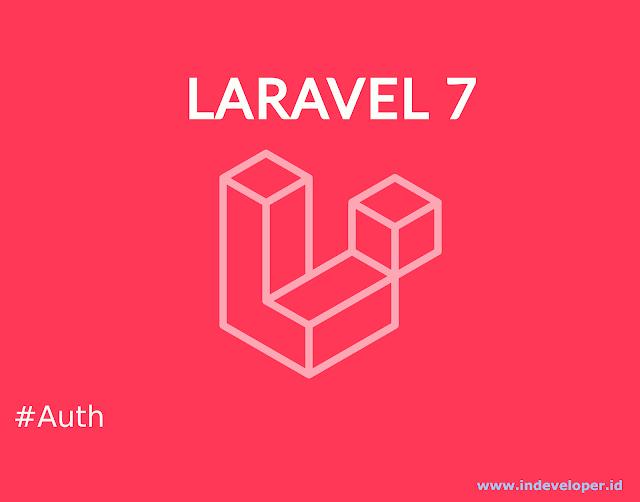Tutorial Membuat Auth Login dan Registasi Dengan Laravel 6 atau 7