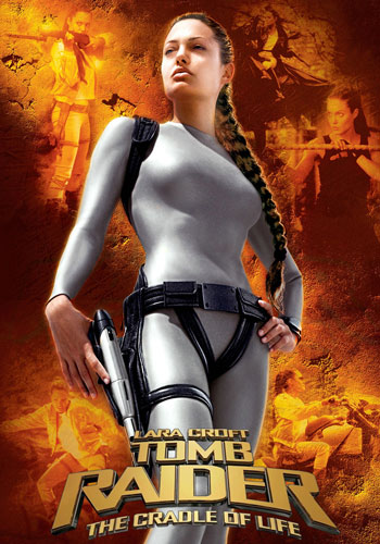 Lara Croft Tomb Raider The Cradle of Life 2003 Dual Audio Hindi Dubbed BRRip 300MB Poster