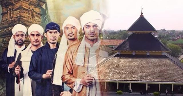 Debat Wali Songo Seputar Kiblat Masjid Agung Demak