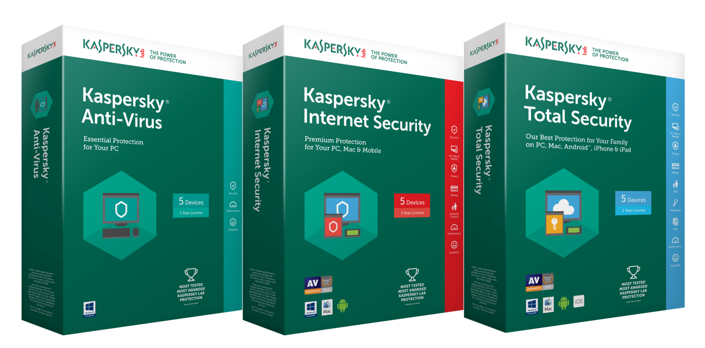 Kaspersky Internet Security - best security software for windows