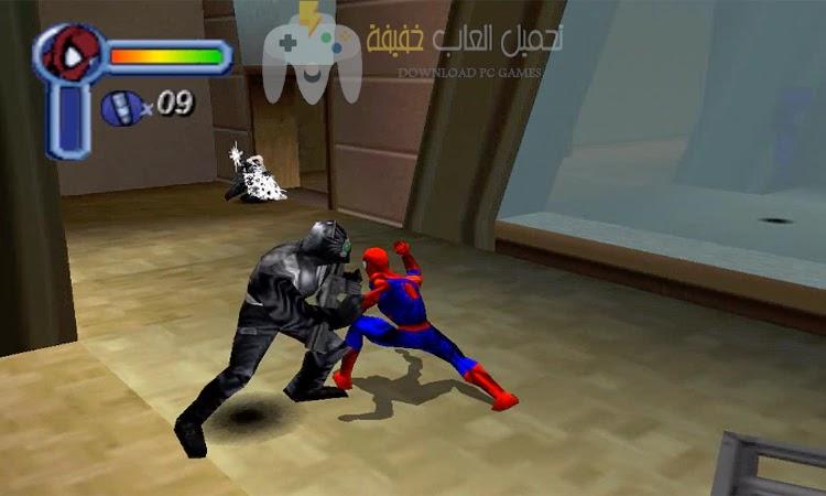 تحميل لعبة سبايدر مان 1 Spider Man مضغوطة بحجم صغير