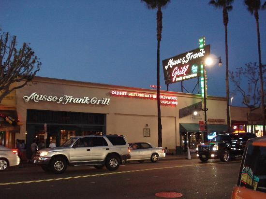 Blog of the darned tcmff sidetrips no 2 musso frank grill - Musso and frank grill hollywood ...