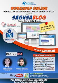 DESBUD ID - Laporan Mentor Workshop Online Sagusablog 47 Lanjutan