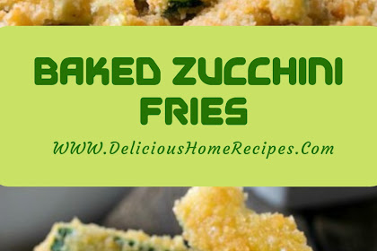 Baked Zucchini Fries #christmas #snack
