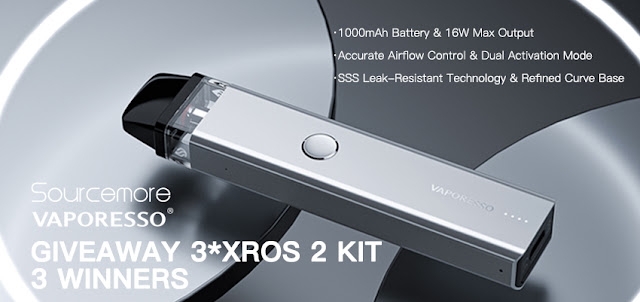 How to get a free Vaporesso XROS 2 Kit