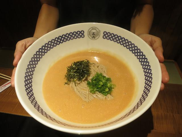 Hot Mentai Cream Soba