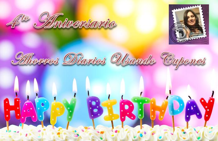 Cuarto aniversario del blog for Cuarto aniversario