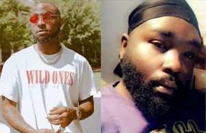 Few Days After Clash, Davido Comments on Ayo Jaguda's Post, The Blogger He Threatened.